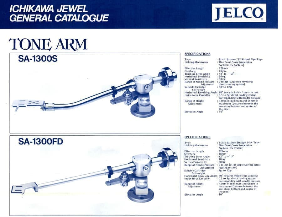 OLD TONEARMS